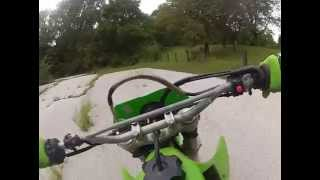 6. 2000 Kawasaki KLX300R Test Ride GoPro #0915 MP4