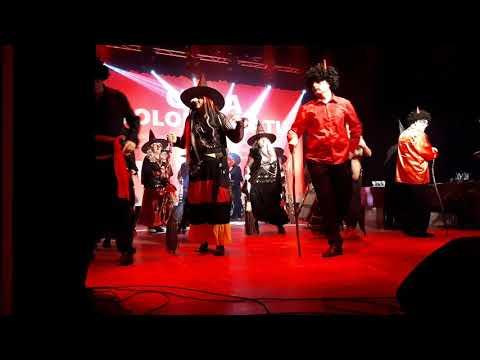 Wideo1: Występ grupy tanecznej stowarzyszenia Wygraj Siebie podczas Gali Wolontariatu 2017