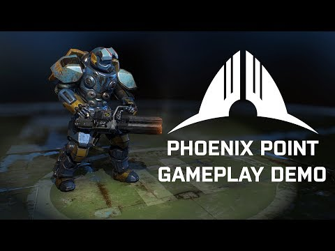 Phoenix Point Pre-Alpha Demo Gameplay (PC Gamer Weekender). (видео)