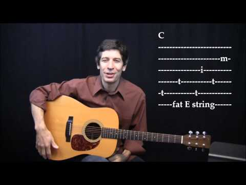 WEBSITE PREVIEW ! Fingerpicking Pattern #2 with TAB  (