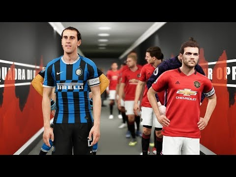 PES 2019 | Man United vs Inter Milan - International Champions Cup 2019