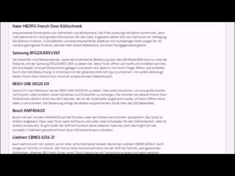 french-door-kuehlschrank.de | Test, Kaufempfehlung & Ratgeber