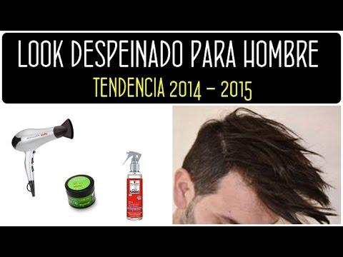 Peinado para hombre 2014 – 2015: Cómo hacer un look despeinado en casa de forma fácil. Men's Haircut