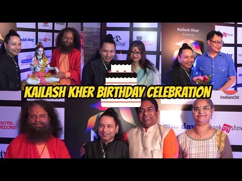Kailash Kher Celebration Birthday