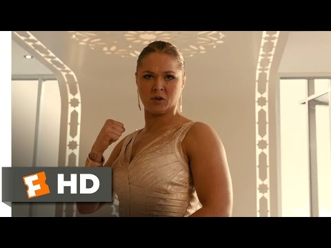 Furious 7 (4/10) Movie CLIP - Letty vs. Kara (2015) HD