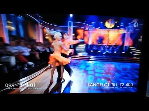 Linn & Lancelot, Samba, Semi Final i Let's Dance 2019