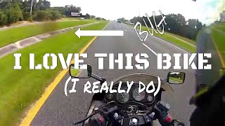 8. What I love about the Kawasaki ZZR600
