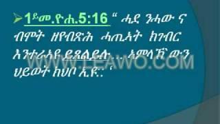 Eritrean Orthodox Tewahdo - Amaladnet Kidusan 2