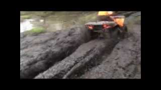 10. 2012 Polaris Sportsman 500 HO MUDDING
