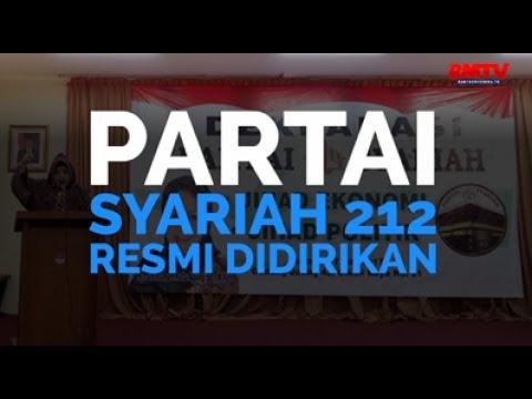 Partai Syariah 212 Resmi Didirikan