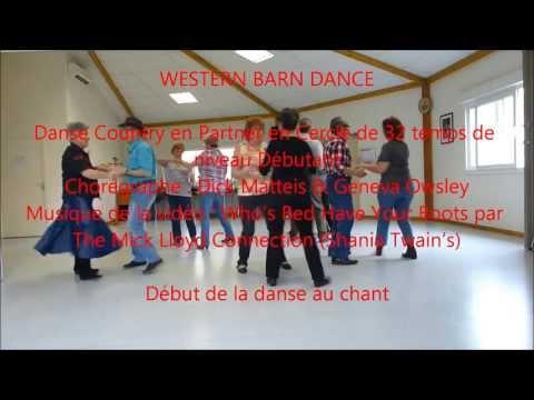 Western barn dance