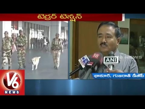 High-Alert-in-Gujarat-with-Terror-Threat-4-NSG-Teams-Deployed-V6-News-06-03-2016