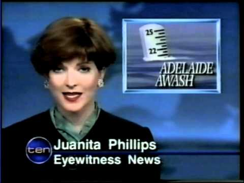 TVQ 10 Ten Eyewitness News With Juanita Phillips 1993