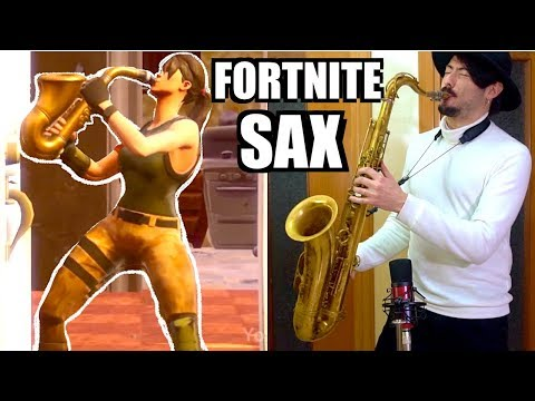 FORTNITE SAX 🎷Phone it in🎷(Saxophone Cover)