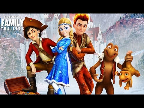 SNOW QUEEN 3: Fire And Ice | Official Trailer - Animated Family Movie [HD]