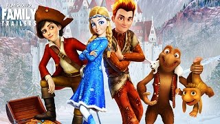 Nonton SNOW QUEEN 3: Fire and Ice   Official Trailer - Animated Family Movie [HD] Film Subtitle Indonesia Streaming Movie Download