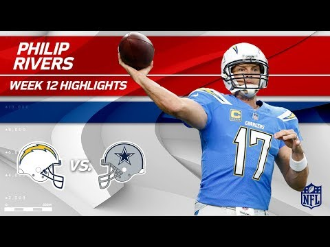 Video: Philip Rivers Slices Through Dallas w/ 434 Yds & 3 TDs! | Chargers vs. Cowboys | Wk 12 Player HLs