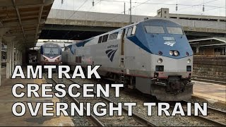 Video Amtrak Crescent #20 Overnight Train Experience! MP3, 3GP, MP4, WEBM, AVI, FLV Desember 2018