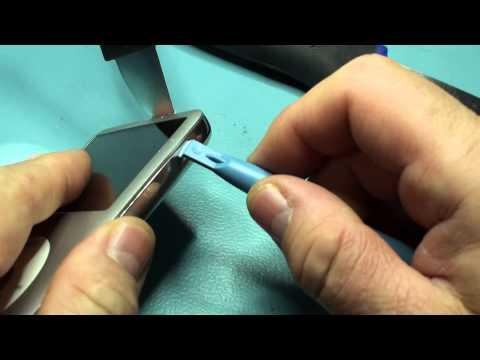 apple ipod classic smontaggio per sostituzione hard disk interno