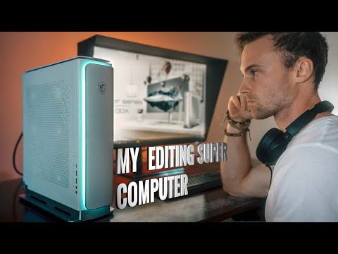 My editing super computer, what's inside?!