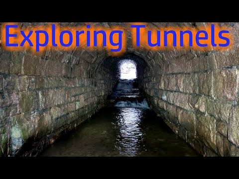 Exploring The Tunnels At Seven Tubs Nature Area