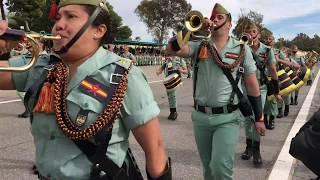 Desfile Legión Española Edchera 2018