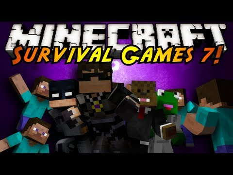 minecraft survival - JOIN SKY, FLUFFY, THE FROG, ...MORGAN FREEMAN...?? AND MORE AS THEY FIGHT THEY'RE WAY TO VICTORY AND THE TITLE OF SURVIVAL GAMES CHAMP! Friends Channels http...