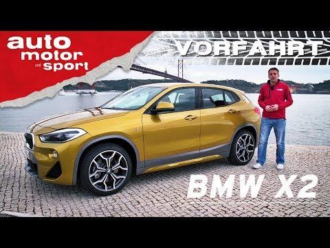 BMW X2: Was kann das Nischen-SUV? - Vorfahrt (Revie ...