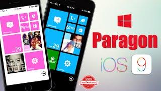 Paragon tweak brings Windows Phone 8 UI to your iOS 9 device, ios 9, ios, iphone, ios 9 ra mat