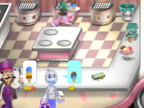 game membuat eskrim Ice Cream Craze