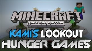 """Minecraft: Xbox 360 - The Hunger Games - """"Kami's Lookout"""" W/ Download (PvP Survival Map)"""