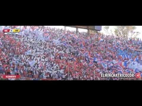 Nacional vs Peñarol | Recibimiento Hinchada Nacional - La Banda del Parque - Nacional