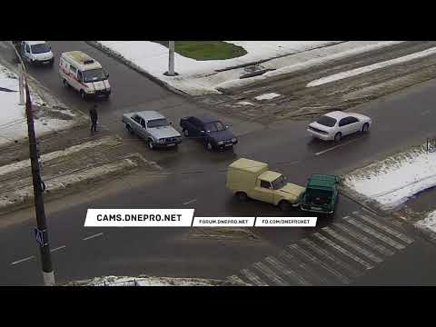 ДТП в Каменсом на улице Антошина