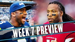 NFL Week 7 preview: David Johnson can only be stopped by his fiancée | Uffsides by SB Nation