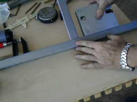Escuadra magnética casera, fácil de hacer.