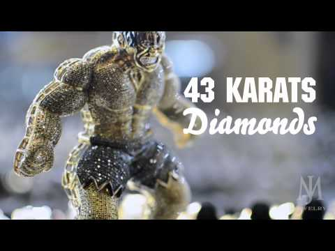 43 Karat Diamond Hulk Pendant M&J Jewelry