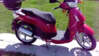 6. Scooter Kymco people 50 S 4t  2007