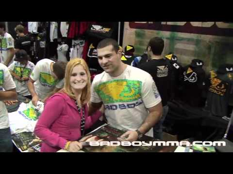 Shogun Rua with Bad Boy at UFC Fan Expo 2010 Boston