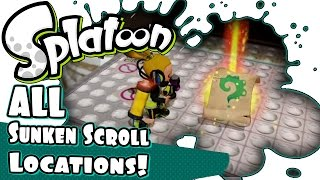 Find all the Splatoon Secret Scroll Locations with this Tutorial! Get a discount deal on Splatoon: ►http://bit.ly/Buy_Splatoon  ► http://bit.ly/Splatoon_Tip...