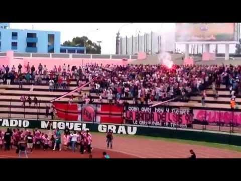 Salida de la Misilera - Juventud Rosada - Barra Popular Juventud Rosada - Sport Boys