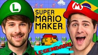 WE'RE IN SUPER MARIO MAKER! - Smosh Legendado
