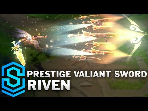 Riven Ngạo Kiếm Hàng Hiệu - Prestige Valiant Sword Riven