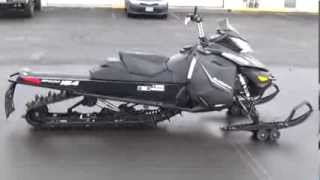 6. 2014 Ski-Doo Summit SP Snowmobile With The E-tec Rotax Motor Tech Walk-Around