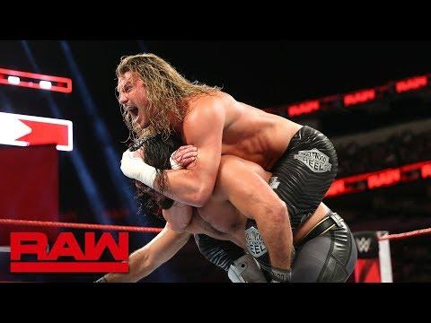 Seth Rollins vs. Dolph Ziggler - Intercontinental Championship Match: Raw, Sept. 17, 2018 (видео)