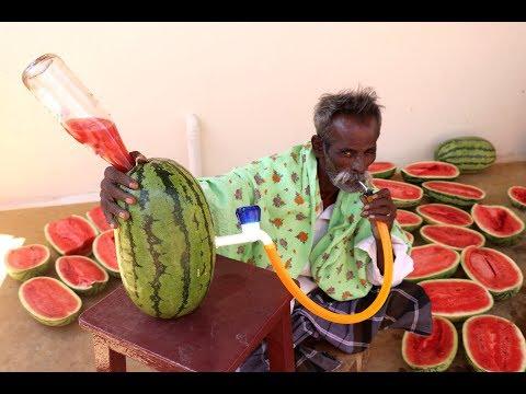 SANGRIYA Drink Prepared my DADDY for PUBLIC / Village Food Factory