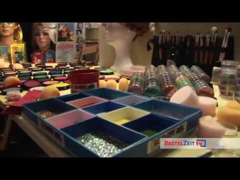 Bastelzeit TV 14 - Kinderschminken Halloween Hexe