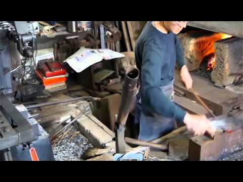 日本刀製作,日本真的不是蓋的!!