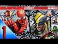 Marvel Ultimate Alliance 2 psp Walkthrough Part 1