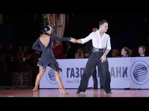 Denis Kikhtenko - Galina Akopian, RUS | ROC 2017 - WDSF PD Open LAT - solo J (видео)