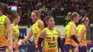 #videoemozioni. Highlight Saugella Monza Vs Imoco Volley Conegliano